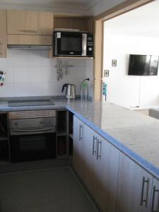 A kitchen or kitchenette at Departamento Costa Puyai II 751