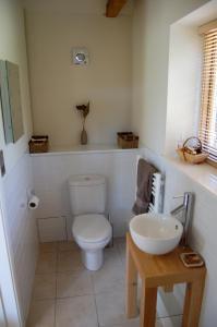 Ein Badezimmer in der Unterkunft Oak Lodge