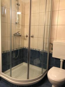 A bathroom at Apartments Ema