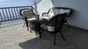 A balcony or terrace at Delfin Apartments