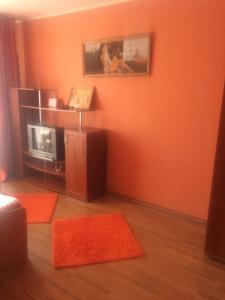 Телевизор и/или развлекательный центр в Apartment on Bydennogo 13A