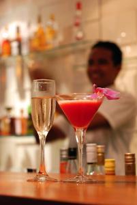 Drinks at Kokomo Resort