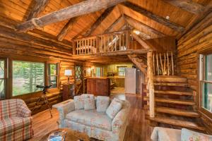Picture of Lake Pleasant Log Cabin
