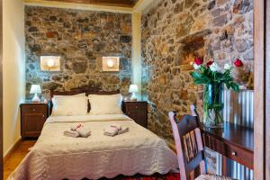 A bed or beds in a room at Vilaeti