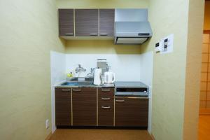 A kitchen or kitchenette at Miyazakiya