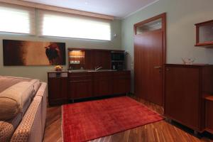 A kitchen or kitchenette at Apartment-Oberlaa