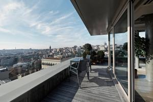 A balcony or terrace at Witt Istanbul Suites