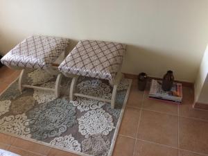 A seating area at Apartamento Marina Esuri