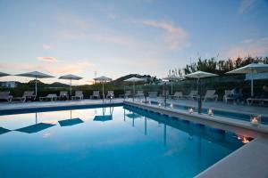 Apartamentos Ses Veles 내부 또는 인근 수영장