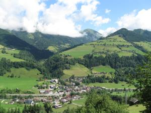 A bird's-eye view of Ferienhaus Unterblasbichl