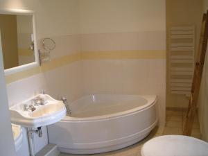 Salle de bains dans l'établissement Apartment Le Gîte Des Blancs 2