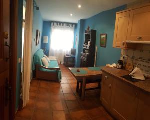 Una cocina o zona de cocina en Apartamentos Andrea