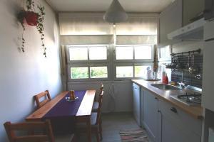 A kitchen or kitchenette at Apartment Melon