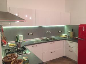 Cucina o angolo cottura di Mostra d' oltremare Luxury apartment
