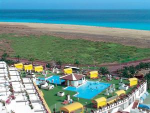 A view of the pool at Ferienwohnung Jandia Fuerteventura or nearby