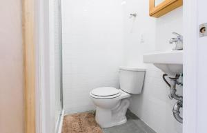 A bathroom at Prime location in West Village 1 bedroom with 2 baths