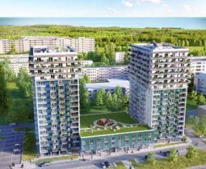 Apartment 4 Ocean by the Baltic Sea a vista de pájaro