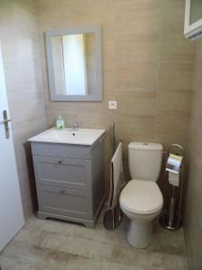 Salle de bains dans l'établissement Liliana