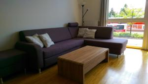 A seating area at Viennes comfortable apartment