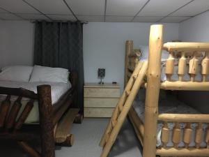 A bunk bed or bunk beds in a room at 316 Patricia Street Accommodation