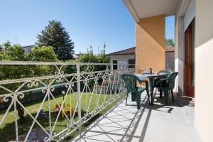 A balcony or terrace at Casa Nina