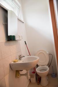Koupelna v ubytování Ubytování Sýkora Apartments