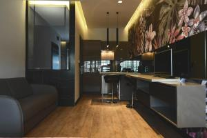 A kitchen or kitchenette at Avenue Luxury Apartments
