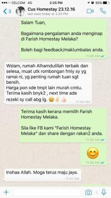 Farish Homestay Melaka Malacca Malaysia