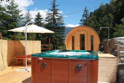 Camping du Parc, Morgex,  vallée d'Aoste, Italie