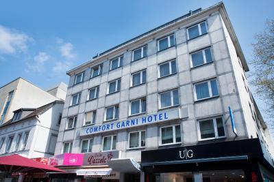 Comfort garni hotel bielefeld germany for Hotel bremen bielefeld