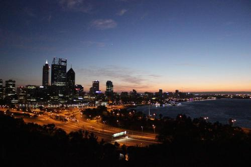 Perth City Pad - nestled at the foot of the city