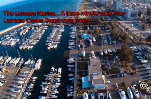 A bird's-eye view of Larnaca Center Beach Apartment