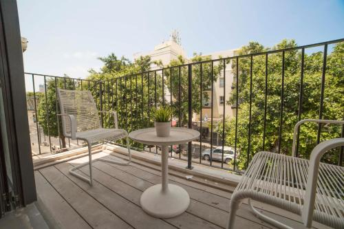A balcony or terrace at Boutique Home
