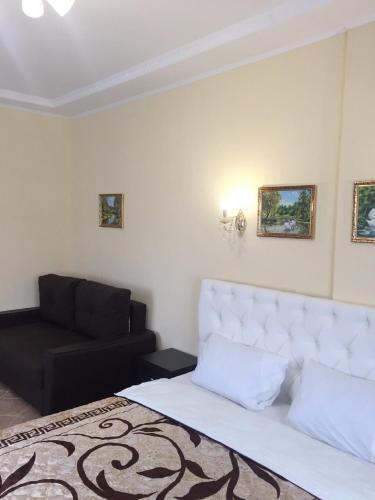 Гостиная зона в Отель Александрия-Домодедово