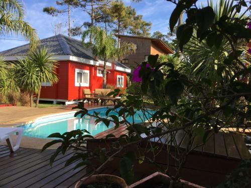 The swimming pool at or near Posada Lune de Miel