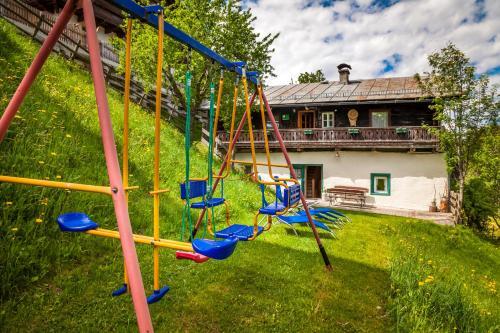 Children's play area at Ferienhaus Unterblasbichl