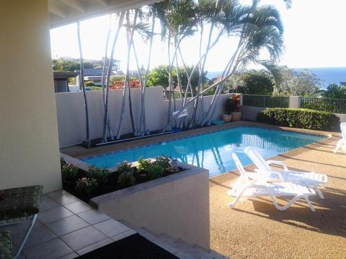 The swimming pool at or near Paradise at Ehupua