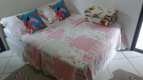 A bed or beds in a room at Apart Luis