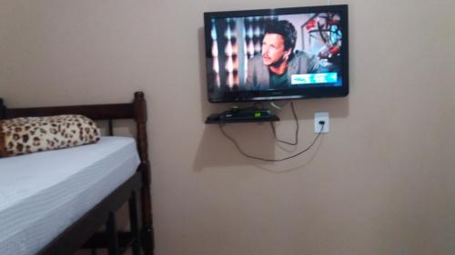 A television and/or entertainment center at Apart Luis