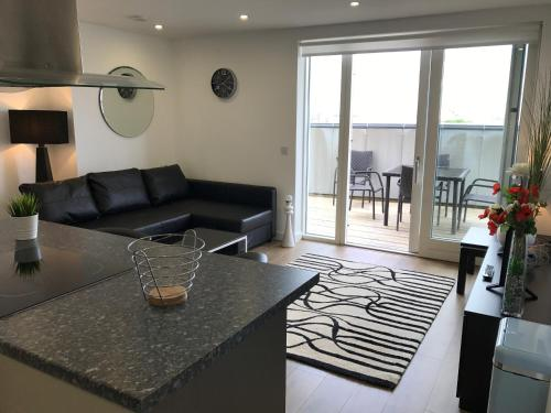 A seating area at Celestial House Apartment - SK