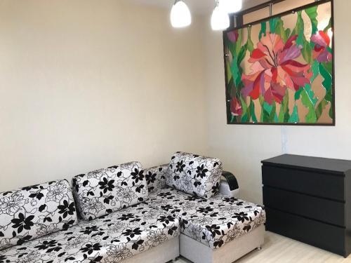 Гостиная зона в Apartment Mustay Karima 28-2