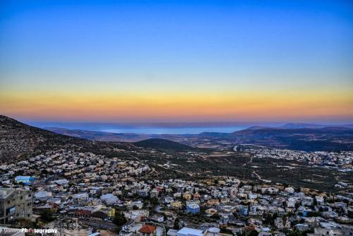 Penthouse on Mountain panoramic view Galilee&Golan
