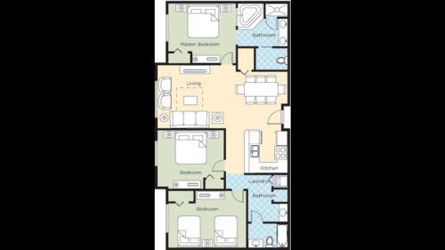 W-Grand Desert 3 Bedroom Deluxe Condo