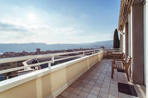 Balkón nebo terasa v ubytování Appartamento Rocchetta