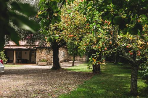 A garden outside Casa do Cruzeirinho