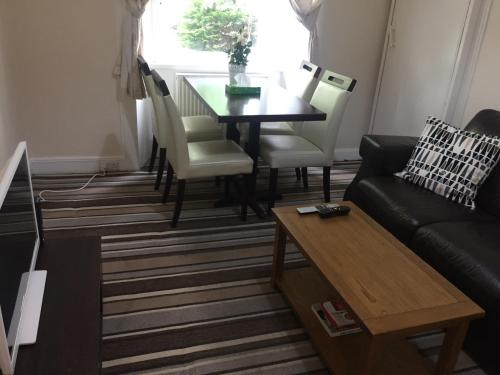 A seating area at Darly Appartment