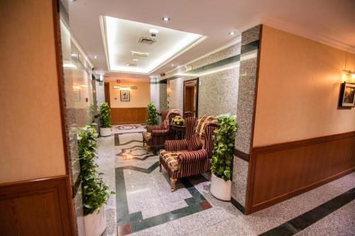The lobby or reception area at Welcome Hotel Apartments 1