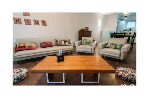 A seating area at Casa Ba Haus