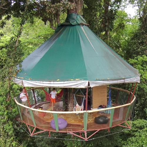Nature Observatorio Treehouse Tours Puerto Viejo