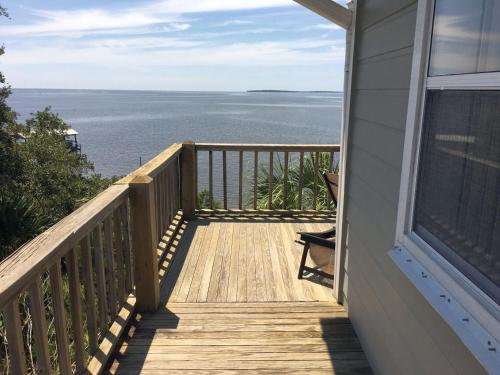 A balcony or terrace at Seahorse Landing #503 Gulf Front Vacation Condo